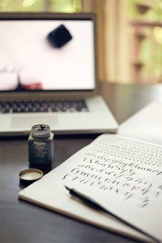 Wit & Whistle » Blog Archive » Calligraphy Crash Course