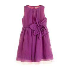 GIRLS' ORGANDY PLUMERIA DRESS