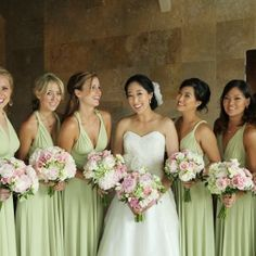 """This pink and green """"enchanted garden"""" wedding is full of lush florals and tons of inspiration!"""