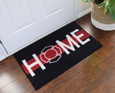 Firefighter Support Welcome Home Doormat  If you're a Firefighter, check out this Firefighter collection, you may like it :)  Here's link ==> https://etsytshirt.com/firefighter  #firefighter #firefighters #fireman