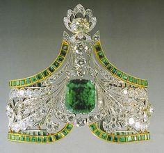 Emerald Bracelet (Russian Crown Jewels) …