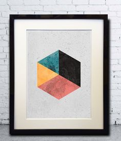 Abstract Art  Geometric Art  Abstract Wall Art  by PrintEclipse