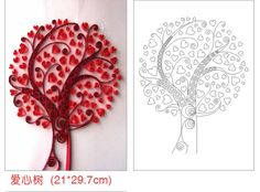 Резултат с изображение за a4 paper strips template for quilling