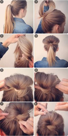 Cute idea for longer hair