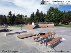 Skate park at Don Morse Park