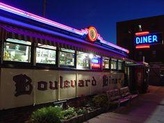 Boulevard Diner, Worcester, Massachusetts