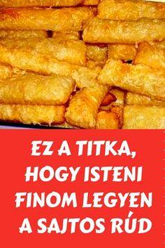 Hungarian Desserts, Hungarian Recipes, Tapas Party, Homemade Crackers, Biscotti Recipe, Salty Cake, Winter Food, Diy Food, Oreo