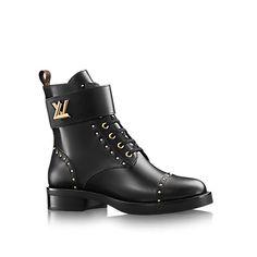 Cadeau Noël de luxe pour Femme - Ranger Rockabily Femme Souliers   LOUIS  VUITTON Bottes Femme 75ece891aae