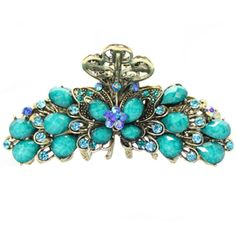 Vintage Style Hair Clips Barrettes Claw Clip Hair Accessories for Girls, A * Visit the image link more details.