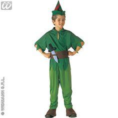 Disfraz de Peter Pan #disney #disfraces #infantil