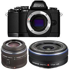 Olympus OM-D E-M10 16MP Mirrorless Digital Camera with 14... https://www.amazon.com/dp/B017T7NCHO/ref=cm_sw_r_pi_dp_x_q.-iybDZBAJGX