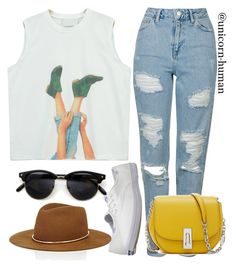 """Untitled #2548"" by unicorn-human ❤ liked on Polyvore featuring Chicnova Fashion, Topshop, Keds and Janessa Leone"