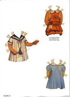 Original Shirley Temple paper dolls – Audrey Kilgore – Picasa Nettalbum