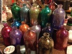 my newest bottles for the recycled photo holders $4 each
