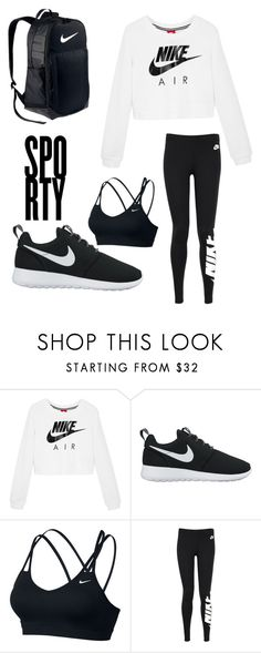 """""""Untitled #18"""" by kinnfors on Polyvore featuring NIKE"""