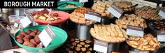 TRAVEL TIP: Visit the Borough Market in London for cheap street food and affordable gourmet foods