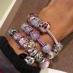 Bracelet Pandora Rose Violet Bijoux et charms Pandora à retrouver sur www.bijoux-et-charms.fr
