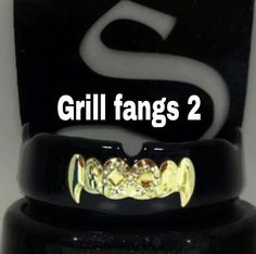 Shurfit Mouth Guard Boil and Bite Gold Fangs custom Design sports mma mouthpiece