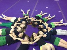 Cheer envy, bonding with your team