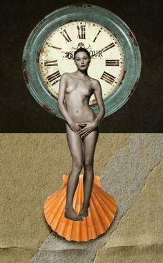 Tempus Fugit - Max Ahab Photomontage