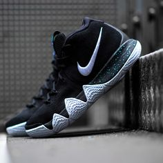 0ba00c016e6 Kyrie s got some new shoes! Get the Nike Kyrie 4  Black Ice  now