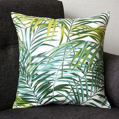 Housse de coussin Palmier Tropical Vgtal 40 x 40 cm