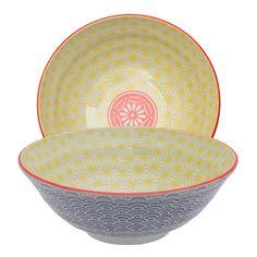 Tokyo Design Studio - Starwave Noodle Bowl - Wave - Yellow/Purple