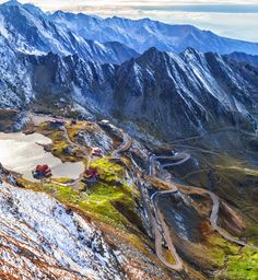 haihui-anyhoo: Transfăgărășan - Vara e ca iarna