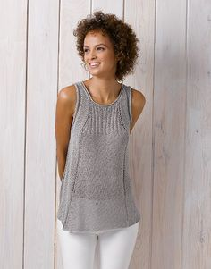 Book Woman Chic 89 Spring / Summer | 8: Woman Top | Pearl light grey