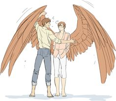 If Romano had wings..... they'd be pretty darn gorgeous...