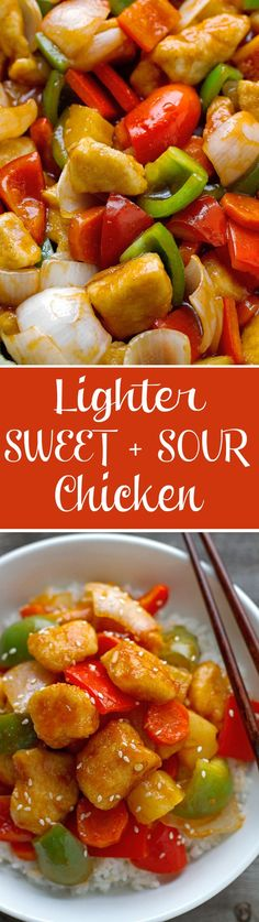 Lighter Sweet and Sour Chicken Recipe | Little Spice Jar