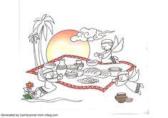 2nd, Imam Hasan coloring