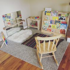One year old playroom