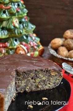 Łatwe do przygotowania ciasto dla tych, którzy nie lubią bawić się w zwijanie tradycyjnego makowca. Tu jest prosto, sama upieczona masa mako... Polish Desserts, Polish Recipes, Cookie Desserts, No Bake Desserts, Xmas Food, Christmas Cooking, Sweet Recipes, Cake Recipes, Dessert Recipes