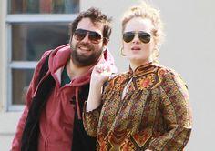 Adele & her new Beau!