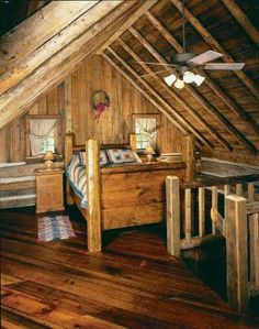 "TLC Home ""Country Decorating Idea: Little House in the Big Woods"" just read the book"