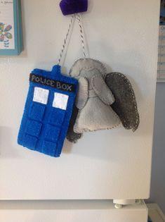 Dr who felt crafts