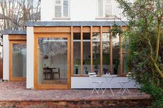 Interior Architecture, Interior And Exterior, Modern Tropical House, Architects London, Compact House, Garden Studio, Garden Cafe, Extension Designs, Timber Structure