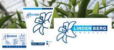 Huisstijl ontwerp voor Kwekerij Lindenberg Lelies. Veilingkaartje, veilinghoes en logo ontwerp.
