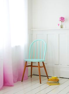 Dip-dyed furniture