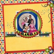 To Infinity and Beyond! - MouseScrappers - Disney Scrapbooking Gallery