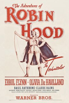 The adventures of Robin Hood Errol Flynn movie poster 10