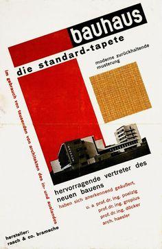 Herbert Bayer, Invitation to the inauguration of the Bauhaus Building (architect Walter Gropius), Dessau – 1925