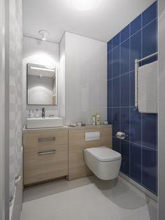 Concept de amenajare pentru un apartament de 60 mp cu 2 dormitoare- Inspiratie… Bathroom Vanity, House Design, Bathroom Spa, Interior Design, Toilet, Home, Interior, Prouve, Home Decor