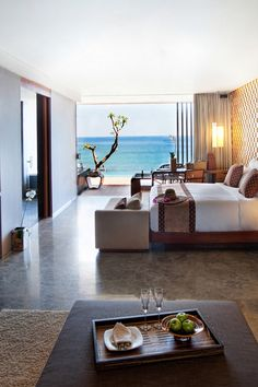 Oceanside rooms provide the perfect vantage point for famed Uluwatu sunsets. Anantara Uluwatu Bali Resort (Bali, Indonesia) - Jetsetter