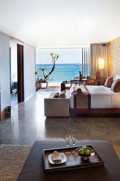 Oceanside rooms provide the perfect vantage point for famed Uluwatu sunsets. Anantara Uluwatu Bali Resort (Bali, Indonesia) - Jetsetter