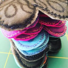 getting ready for Summer Lovebugs - our National Celebration of Stitch Day 2018 - using the guild's 2018 heart theme for the wing-shape. Love Bugs, Kingston, Celebration, Shape, Stitch, Heart, Summer, Full Stop, Summer Time