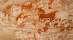 Did humans speak through cave art? New paper links ancient drawings and language's origins Era Paleolítica, Cave Drawings, Symbolic Art, Early Humans, Archaeology News, Native American Art, Stock Pictures, Rock Art, New Art