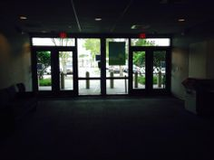 Back entrance of the Miami Herald
