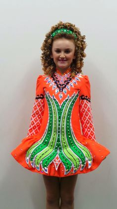 **Doire Dress Designs**Irish Dance Solo Dress Costume**
